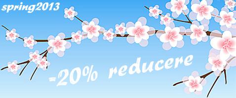 reducere 20% hosting
